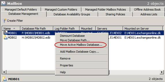 high availability changes in exchange server 2010 dag