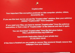 CryptoLocker Virus_infected PC