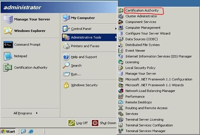 Migrating The Active Directory Certificate Service From Windows ...